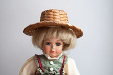 Free Pretty Doll In The Antique Dress Royalty Free Stock Photography - 29582677