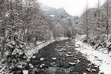 Free Mountain Winter Landscape Stock Photos - 29584263