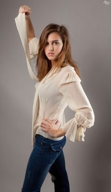 Free Flowing Shirt Stock Photos - 29585863