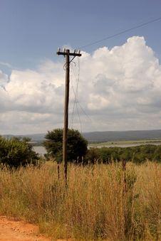 Free Rural Telecommunication Disruption Royalty Free Stock Photos - 29590518