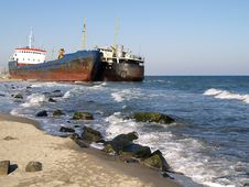 Free Cargo Ships Stock Photo - 29599080