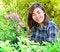 Free Beautiful Asian Women In Flowers Garden Stock Photography - 29594892