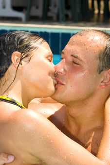 Free Attractive Couple Royalty Free Stock Photo - 2960255