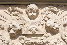 Free Angel Bas-relief Royalty Free Stock Image - 2960496