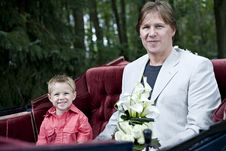 Free Father And Son On Way To Weddi Royalty Free Stock Photo - 2960845