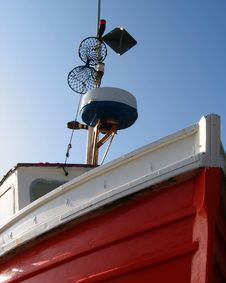 Filey Fishing Boat Royalty Free Stock Image