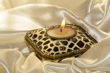 Free Burning Candle Stock Photography - 2962592