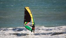 Free Windsurfer Royalty Free Stock Photography - 2962877