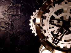 Free Mechanical Metal Clock Stock Photography - 2963432