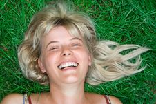 Free Beauty Blonde Happy Woman Stock Photos - 2964043