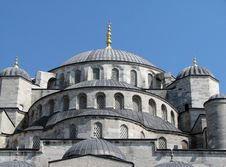 Free Blue Mosque Royalty Free Stock Photography - 2965177