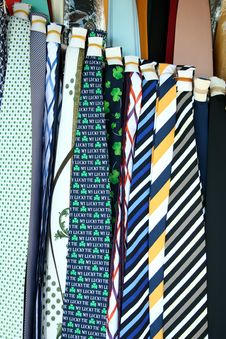 Mens Neck Ties Stock Images