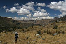 Free Mountain Trekking Stock Photography - 2967382