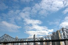 Free Brisbane Story Bridge Royalty Free Stock Photos - 2967398