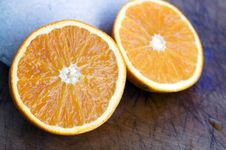 Free Halved Orange Stock Photo - 2968130
