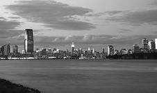 Free The New York City Skyline Royalty Free Stock Photos - 2968918