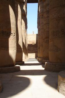 Free Egypt Series (Stone Columns) Royalty Free Stock Image - 2969356