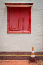 Free A Red Window Royalty Free Stock Images - 29603169