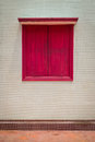 Free A Red Window Stock Image - 29603301