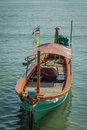 Free A Green Long Tail Boat Royalty Free Stock Photography - 29603377