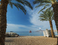 Free Sandy Beach Of Eilat After Storm, Israel Stock Image - 29607281