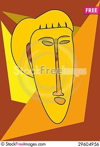 Free Woman&x27;s Mask Royalty Free Stock Image - 29604956
