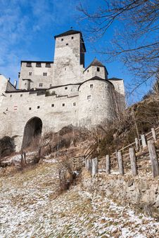 Castle Of Campo Tures Royalty Free Stock Photo