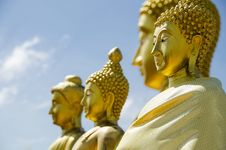 Free Faces Of Buddha Royalty Free Stock Images - 29607909