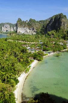 Free Railay Peninsula Stock Photo - 29607950