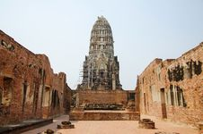 Free Old Temple In Ayutthaya Stock Photo - 29608040