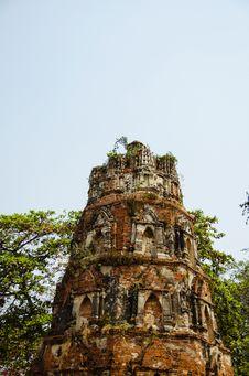 Free Ayutthaya Ruins Stock Image - 29608041