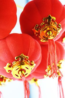 Free Red Lanterns Decoration Stock Image - 29609911