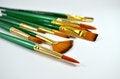 Free Multiple Type Of Paintbrush Stock Photography - 29617922