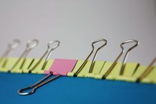 Free Paper Clips Stock Photography - 29610052