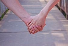 Free Hands Of The Bride And The Groom Stock Image - 29611661