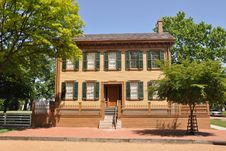 Abraham Lincoln S House Royalty Free Stock Image