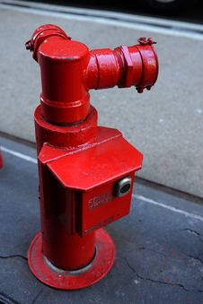 Free Red Fire Hydrant Royalty Free Stock Photos - 29614008