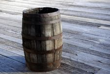 Free Old Wooden Barrel Cask Stock Images - 29614104