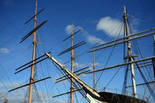 Free The Clipper Ship Royalty Free Stock Photo - 29614175