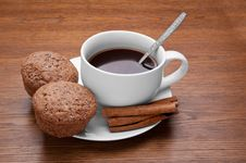 Free Coffee And Cake Royalty Free Stock Photo - 29615565