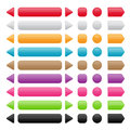 Free Set Of Colorful Buttons Royalty Free Stock Images - 29622449