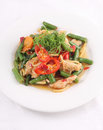Free Thai Food Stir Fried With Chicken And Chilli Basil. Stock Photo - 29623470