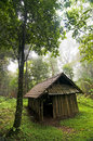 Free Wood Cabin In The Forest Stock Photography - 29627322