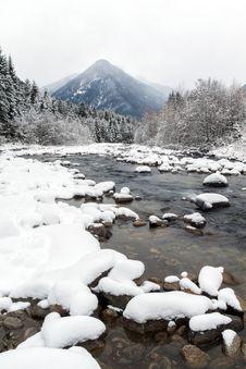 Free Mountain Winter Landscape Royalty Free Stock Photo - 29622195