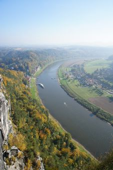 Free The Upper Elbe Valley In Saxony, Germany Stock Photos - 29623923