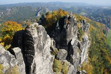 Free The Elbe Sandstone Mountains In Germany Royalty Free Stock Images - 29624029