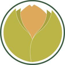 Emblem Indicating Ecological Product Stock Image