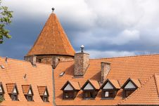 Free Sights Of Poland. Castle Bytow . Royalty Free Stock Images - 29626589
