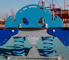 Childrens Playground Toy. Stock Image