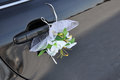 Free Wedding Car Decoration Stock Photography - 29631782